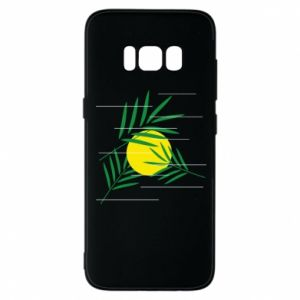Phone case for Samsung S8 Palm branches