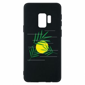 Phone case for Samsung S9 Palm branches