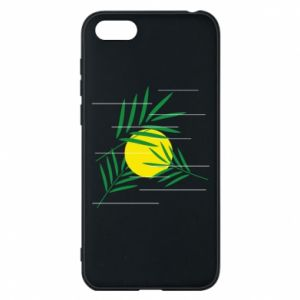 Phone case for Huawei Y5 2018 Palm branches