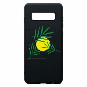 Phone case for Samsung S10+ Palm branches