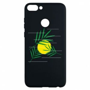 Phone case for Huawei P Smart Palm branches