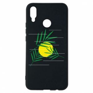Phone case for Huawei P Smart Plus Palm branches