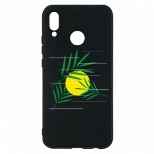 Phone case for Huawei P20 Lite Palm branches