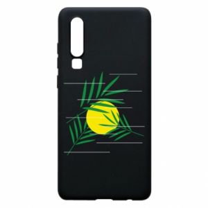 Phone case for Huawei P30 Palm branches