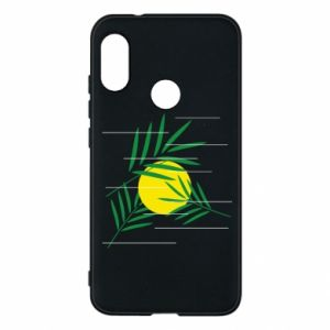 Phone case for Mi A2 Lite Palm branches