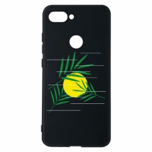 Phone case for Xiaomi Mi8 Lite Palm branches