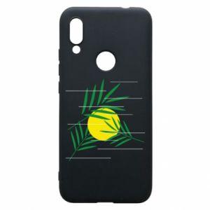 Phone case for Xiaomi Redmi 7 Palm branches