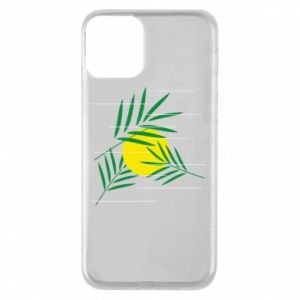 Phone case for iPhone 11 Palm branches
