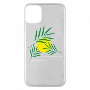 Phone case for iPhone 11 Pro Palm branches