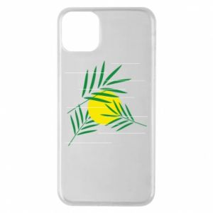 Phone case for iPhone 11 Pro Max Palm branches