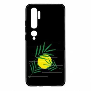 Etui na Xiaomi Mi Note 10 Gałązki palmowe