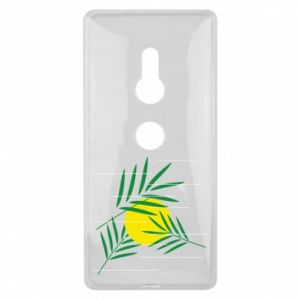 Etui na Sony Xperia XZ2 Gałązki palmowe
