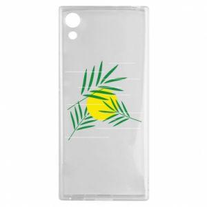 Etui na Sony Xperia XA1 Gałązki palmowe