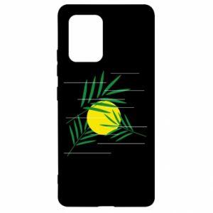 Etui na Samsung S10 Lite Gałązki palmowe