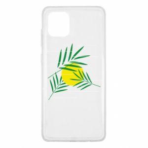 Etui na Samsung Note 10 Lite Gałązki palmowe