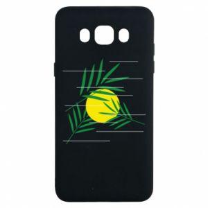 Etui na Samsung J7 2016 Gałązki palmowe