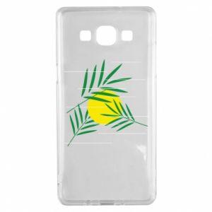 Etui na Samsung A5 2015 Gałązki palmowe