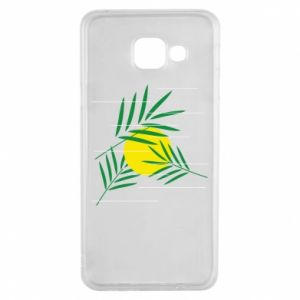 Etui na Samsung A3 2016 Gałązki palmowe