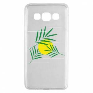 Etui na Samsung A3 2015 Gałązki palmowe