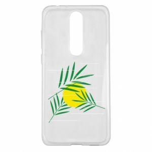 Etui na Nokia 5.1 Plus Gałązki palmowe