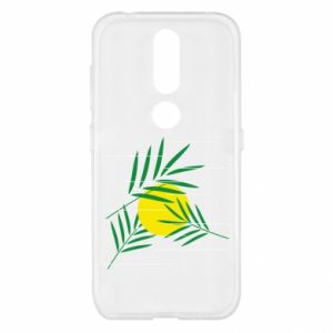 Etui na Nokia 4.2 Gałązki palmowe