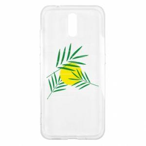 Etui na Nokia 2.3 Gałązki palmowe