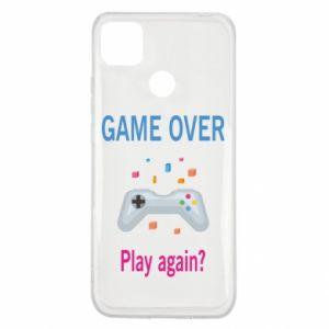 Etui na Xiaomi Redmi 9c Game over. Play again?