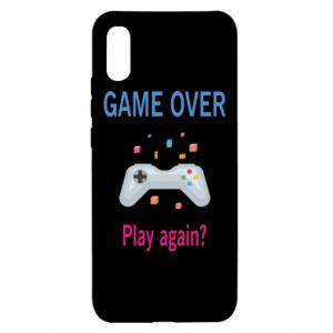 Etui na Xiaomi Redmi 9a Game over. Play again?