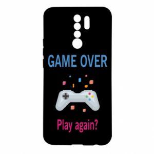 Etui na Xiaomi Redmi 9 Game over. Play again?