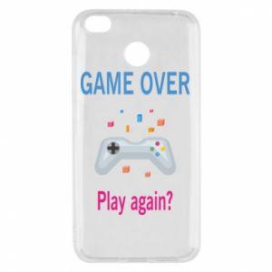 Etui na Xiaomi Redmi 4X Game over. Play again?