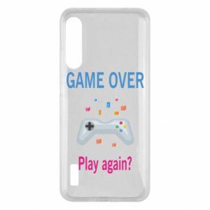 Etui na Xiaomi Mi A3 Game over. Play again?