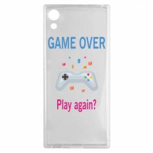 Etui na Sony Xperia XA1 Game over. Play again?