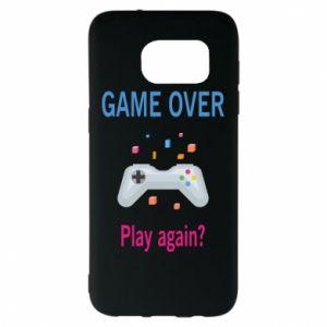 Etui na Samsung S7 EDGE Game over. Play again?