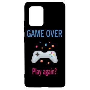 Etui na Samsung S10 Lite Game over. Play again?