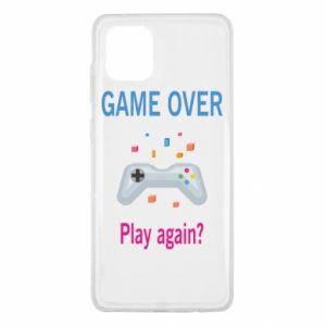 Etui na Samsung Note 10 Lite Game over. Play again?