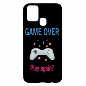 Etui na Samsung M31 Game over. Play again?