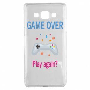 Etui na Samsung A5 2015 Game over. Play again?