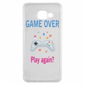 Etui na Samsung A3 2016 Game over. Play again?