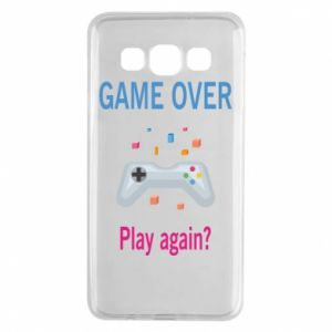 Etui na Samsung A3 2015 Game over. Play again?