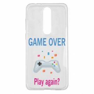 Etui na Nokia 5.1 Plus Game over. Play again?