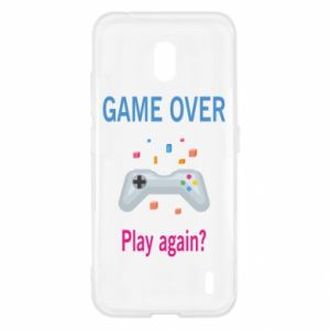 Etui na Nokia 2.2 Game over. Play again?