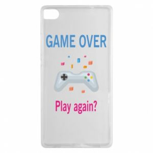 Etui na Huawei P8 Game over. Play again?