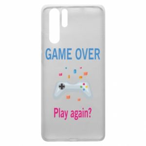 Etui na Huawei P30 Pro Game over. Play again?