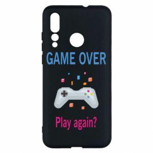 Etui na Huawei Nova 4 Game over. Play again?
