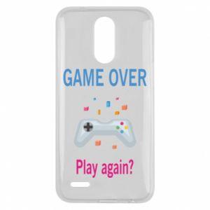 Etui na Lg K10 2017 Game over. Play again?