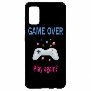 Etui na Samsung A41 Game over. Play again?