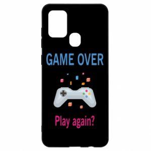Etui na Samsung A21s Game over. Play again?