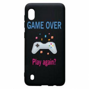 Etui na Samsung A10 Game over. Play again?