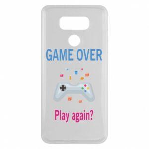 Etui na LG G6 Game over. Play again?
