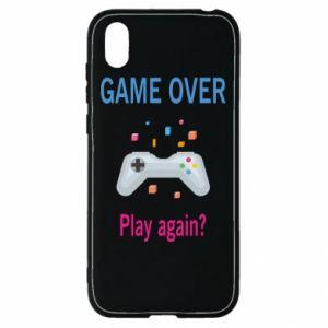 Etui na Huawei Y5 2019 Game over. Play again?